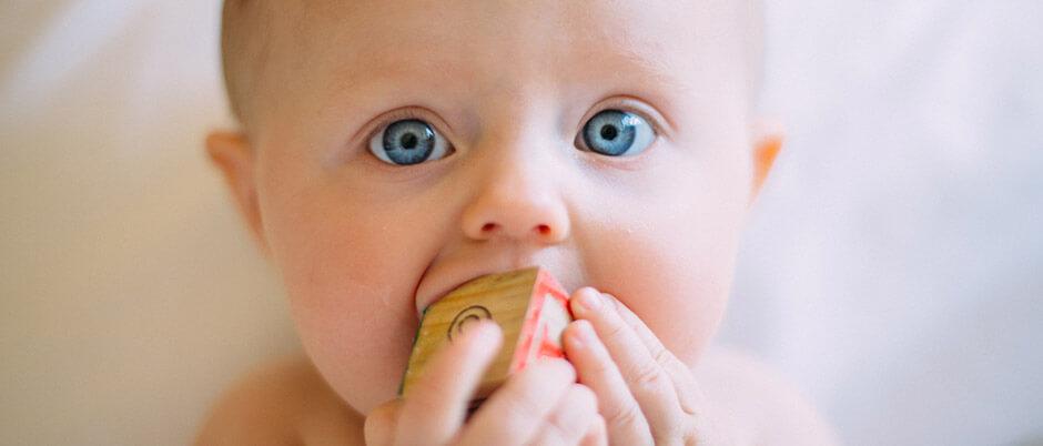 zaguba na sluha pri bebeta i deca